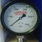 100mm Dial Pressure with Diaphragm